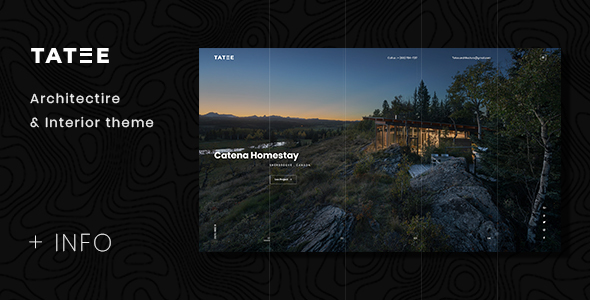 Tatee — Architecture and Building Business PSD Template