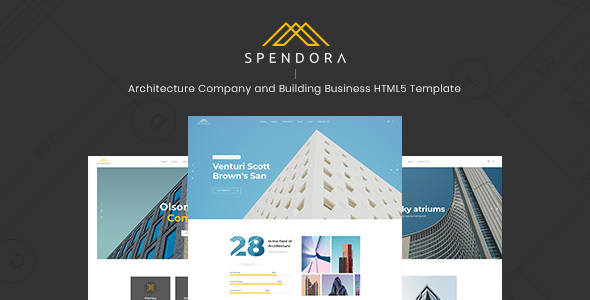 Spendora — Architecture and Building Business HTML Template