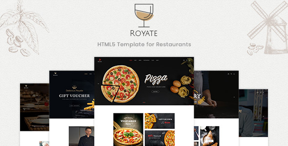 Royate — Restaurant HTML5 Template