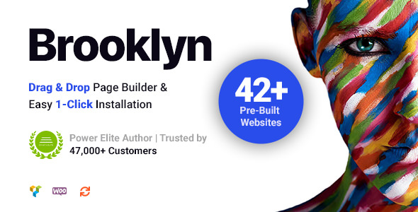 Brooklyn v4.9.1.2 — Creative Multi-Purpose WordPress Theme