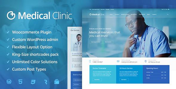 Medical Clinic v1.1.4 — Health & Doctor Medical Theme