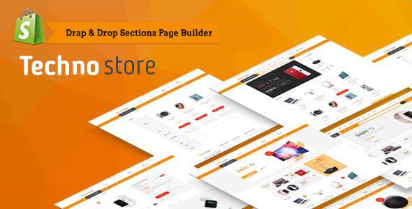Techno Store — Electronic eCommerce Shopify Theme