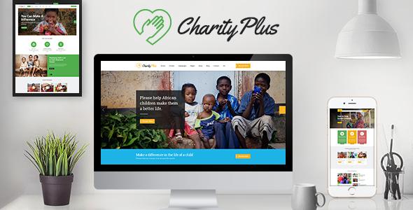 CharityPlus — Multipurpose Nonprofit Charity Organization HTML5 Template