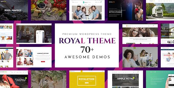 Royal v4.7.2 — Multi-Purpose WordPress Theme