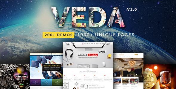 VEDA v2.7 — Multi-Purpose Theme