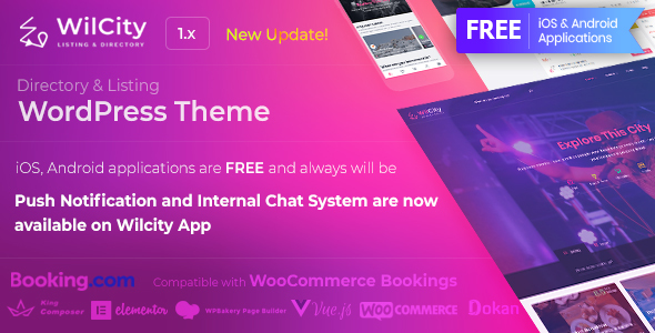 Wilcity — Directory Listing WordPress Theme v1.1.7