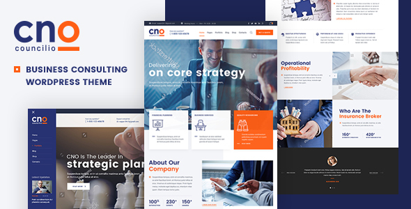 Councilio v1.0.1 — Business and Financial Consulting Theme