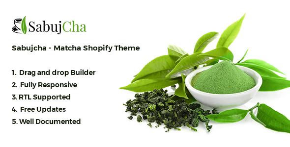 Sabujcha — Matcha Shopify Theme