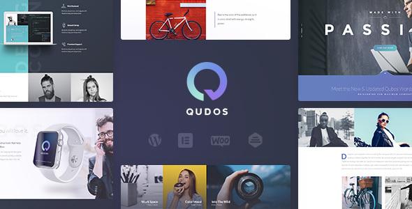 Qudos v1.0.6.2 — Multi-Purpose Elementor WordPress Theme