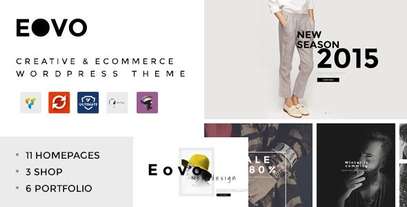 EOVO v1.6 — Creative & eCommerce WordPress Theme