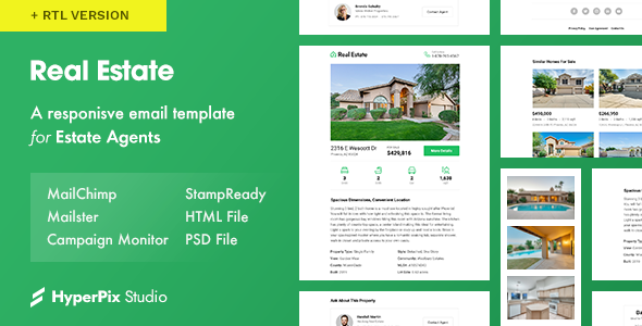Real Estate v1.0 — Email Template