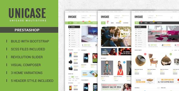 Unicase — Responsive Prestashop Theme