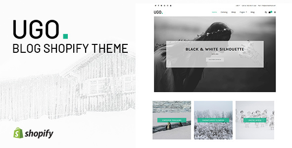 Ugo — Blog Store Shopify Theme