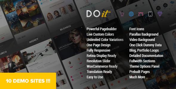 DOIT v1.5 — Creative MultiPurpose Theme