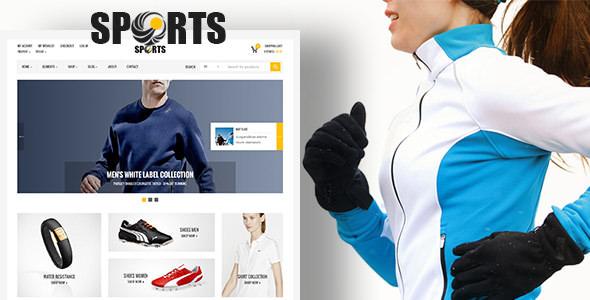 Sport Shop v2.2 — Sporting Club RTL WooCommerce Theme