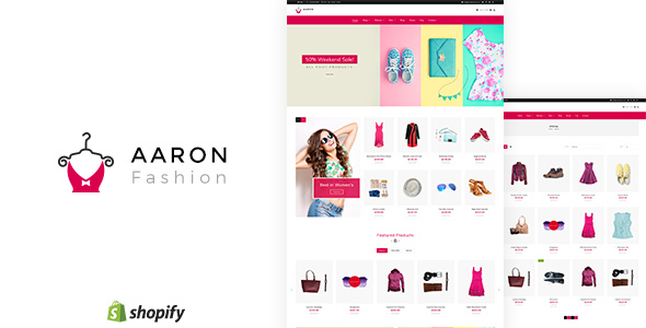 Aaron v1.1 — Fashion Shopify Theme