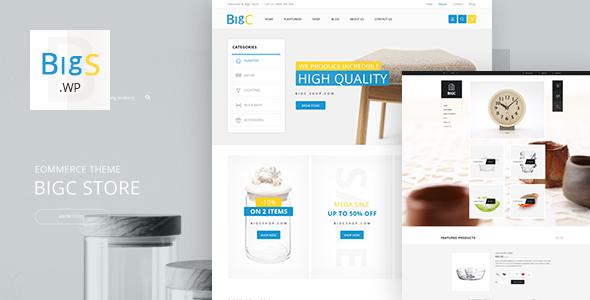 BigShop v3.1 — Responsive WooCommerce Theme