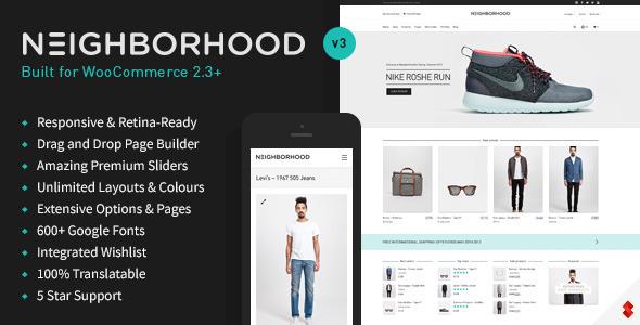 Neighborhood v3.5.0 — Responsive Multi-Purpose Shop Theme