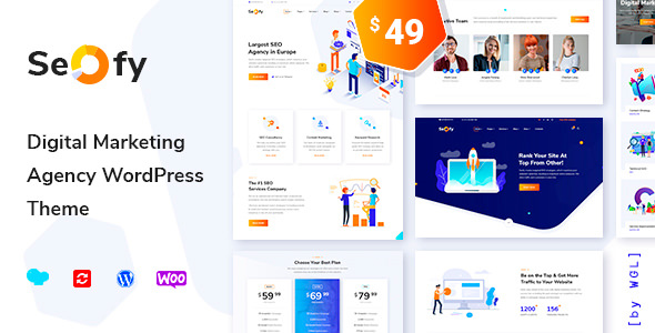 Seofy v1.2 — Digital Marketing Agency WordPress Theme