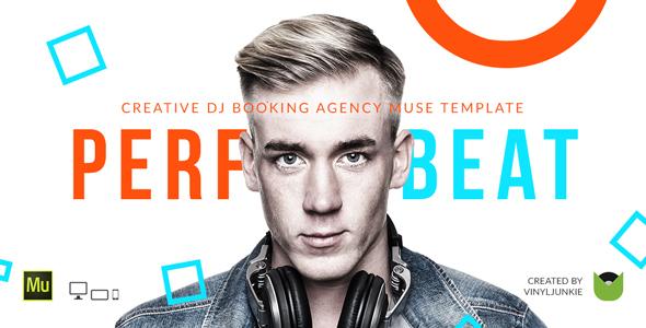 PerfectBeat — DJ Booking Agency Muse Template