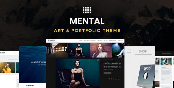 Mental v2.3.0 — Art & Portfolio Theme
