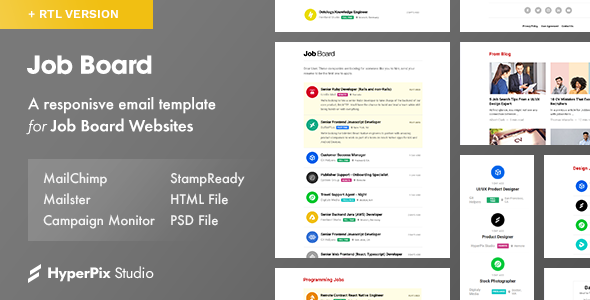 Job Board — Email Template