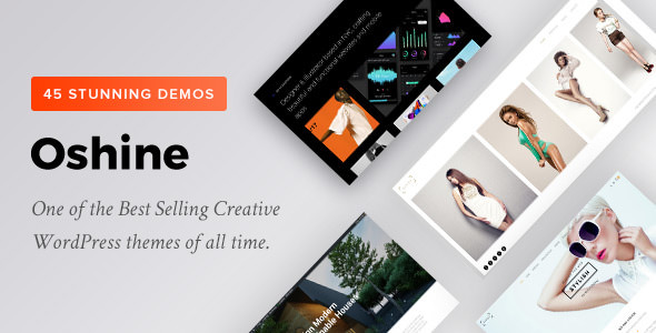 Oshine v6.6.2- Creative Multi-Purpose WordPress Theme