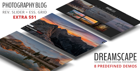 Dreamscape v1.2 — A Responsive Photography Blog Theme