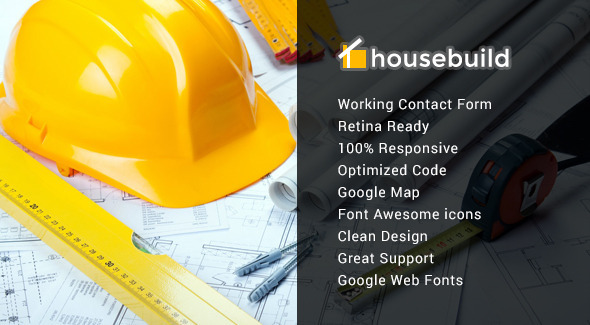 Housebuild — Responsive Construction Mura Theme
