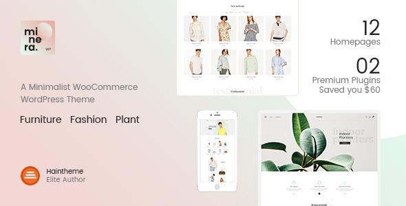 Minera v2.6 — Minimalist WooCommerce WordPress Theme