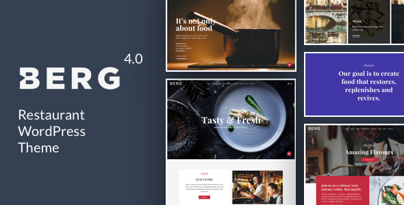 BERG v4.2 — Restaurant WordPress Theme