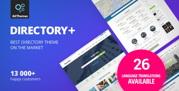Directory v2.55 — WordPress Theme