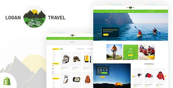 Logan — Trekking & Camping Store Shopify Theme