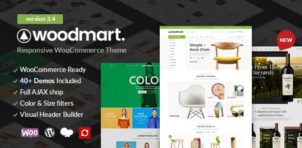 WoodMart v3.4.0 — Responsive WooCommerce WordPress Theme