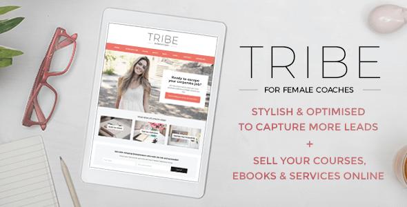 Tribe Coach v1.3.4 — Feminine Coaching Business Theme