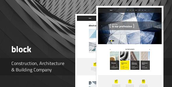 Block v1.0.3 — Construction, Architecture, Building Company