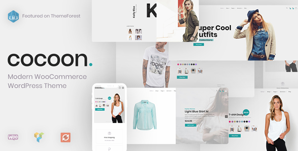 Cocoon v1.1.5 — Modern WooCommerce WordPress Theme