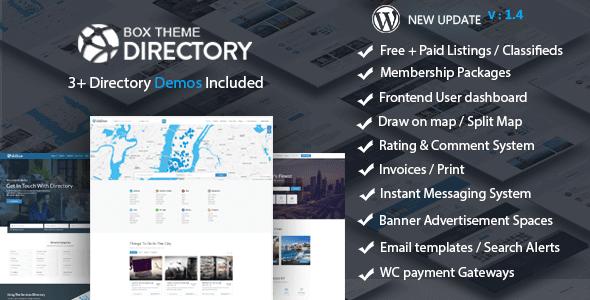 Directory v1.4 — Multi-purpose WordPress Theme