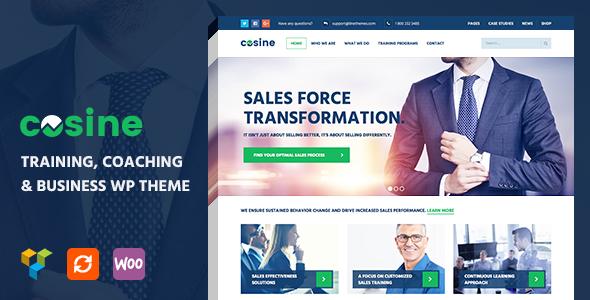 Cosine v1.0.4 — Training, Coaching & Business Theme