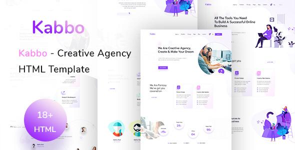 Kabbo — Creative Agency HTML Template