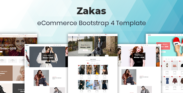 Zakas v1.0 — Fashion eCommerce Template