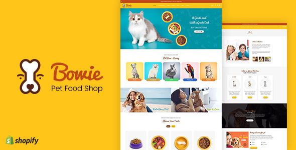 Bowie — Pet, Aquarium, Birds Food, Live Shopify
