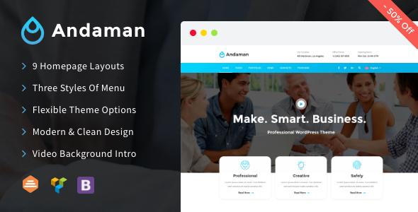 Andaman v1.0.8 — Creative & Business WordPress Theme