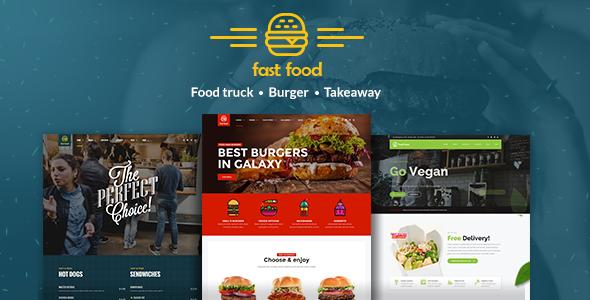 Fast Food v1.0.6 — WordPress Fast Food Theme