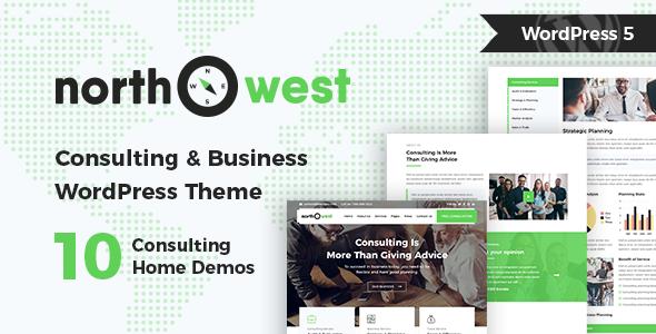 Northwest v1.2.1 — Consulting WordPress Theme