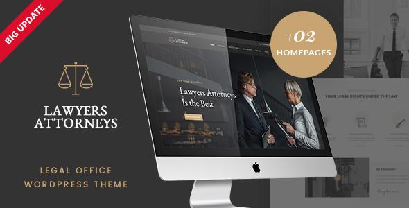 Lawyer Attorneys v3.0.2 — A Law Office WordPress Theme