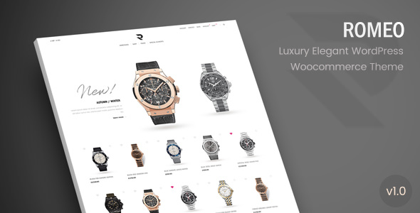 Romeo v1.1 — Luxury Modern WooCommerce WordPress Theme