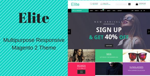 Elite — Fashion Store Responsive Magento 2 Theme