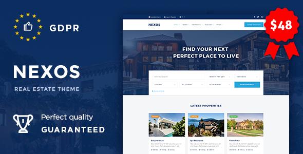 Nexos v1.2 — Real Estate Agency Directory