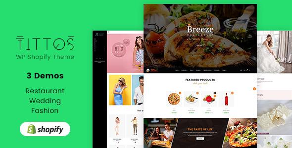 Tittos v1.1 — Multipurpose Shopify Theme